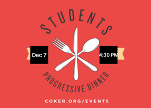 Students Progressive Dinner