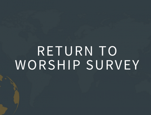 Return to Worship Survey