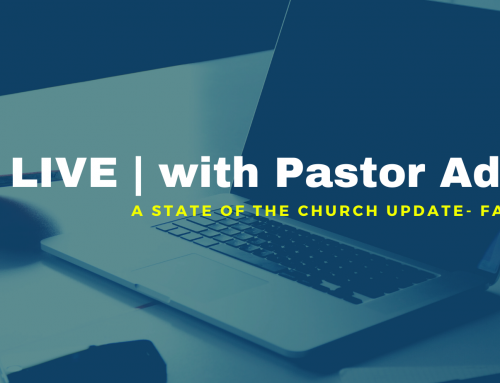 LIVE | with Pastor Adam, Q&A