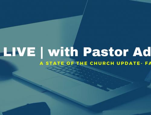 LIVE | with Pastor Adam, Q&A
