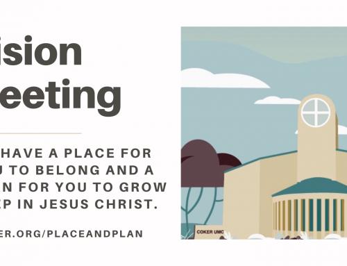 Vision Meeting April 28th 2021